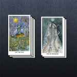 What to grab onto? What to let go of? Let Sally read the More/Less spread to help you find your balance.