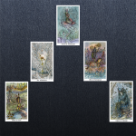"Sally Felt's ""Road to Completion"" Tarot reading can get any creative project refocused toward ""done!"""