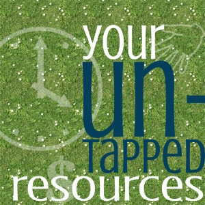 Your untapped resources (6 cards)